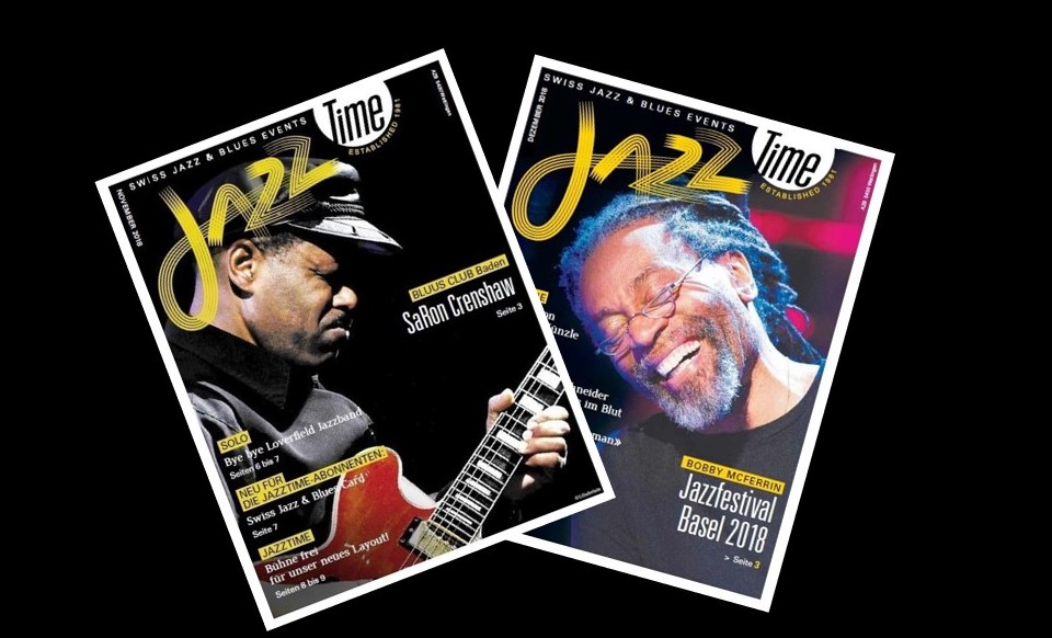 JAZZTIME - Swiss Jazz & Blues Event Magazin